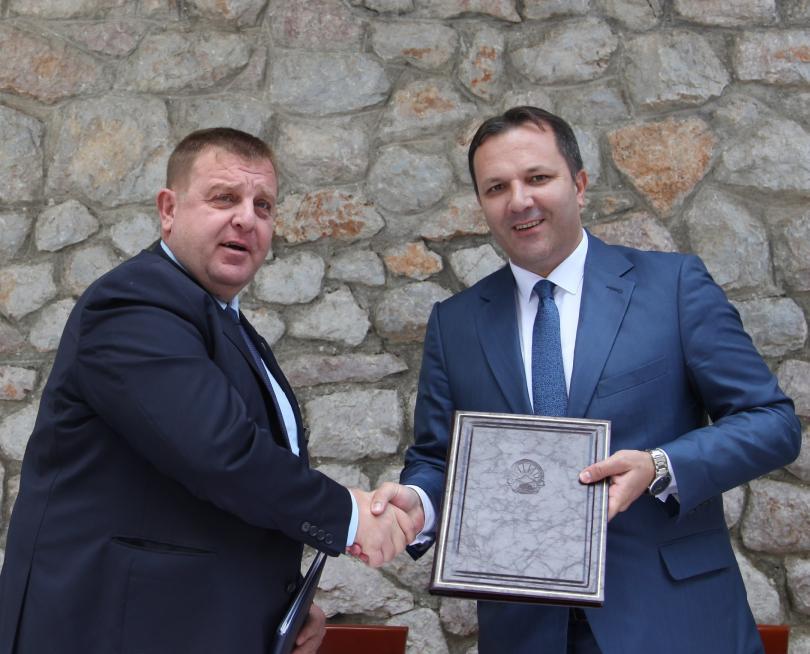 снимка 1 София и Скопие подписаха протокол за сътрудничество срещу трафика на хора