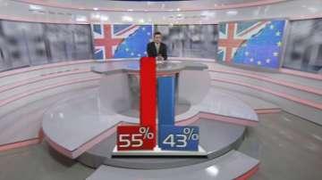 Вижте последните данни от проучването за изход от референдума