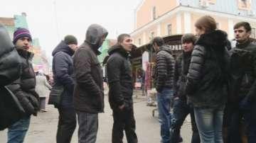 От нашите пратеници: Масови проверки сред мигрантската общност в Санкт Петербург