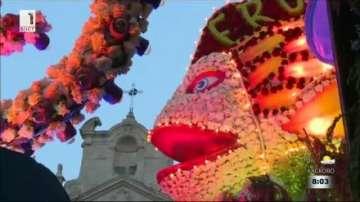 Пролетен карнавал на цветята в Сицилия