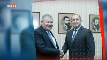 Президентът Румен Радев се срещна с производителя на Ф-16