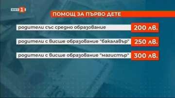ВМРО предлага еднократна финансова помощ за деца в София