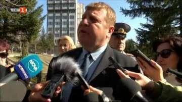 Каракачанов за коментара на Гешев: Акъл на никого не съм давал