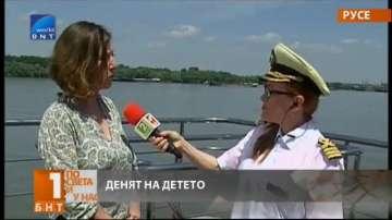 В Деня на детето на разходка с корабче по река Дунав