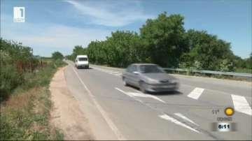 Въведени са ограничения на скоростта на пътя Шумен - Бургас