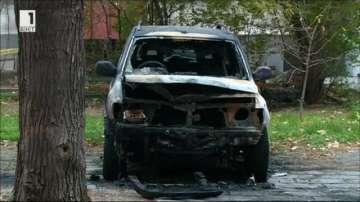 Запалиха колата на директора на затвора в Пловдив
