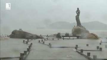 Тихоокеанският тайфун Нида удари Южен Китай