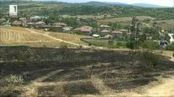 Пожар евакуира жителите на благоевградското село Рилци
