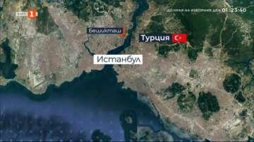 13 ранени, след като автобус се вряза в хора в Истанбул