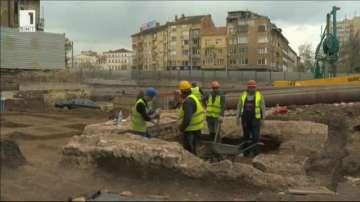 Откриха източния некропол на антична Сердика