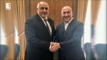 Бойко Борисов се срещна с премиера на Косово Рамуш Харадинай