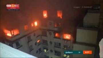 Пожар в центъра на Париж: Осем души са загинали, близо 30 са ранени