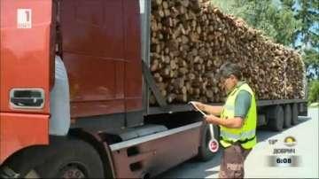 Югозападното държавно предприятие със засилени проверки за добива на дървесина