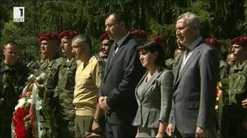 Илинденско-Преображенското въстание отбелязаха в местността Предел