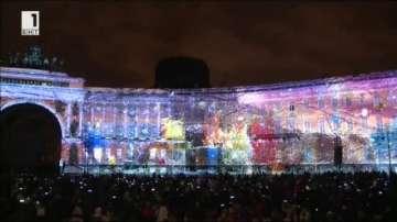 Грандиозно светлинно шоу в Санкт Петербург