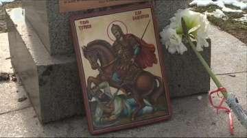 Паметник на хан Тервел в София?