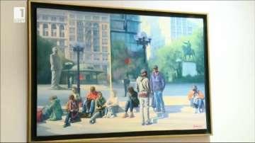Трима парижани в Пловдив - изложба за празника