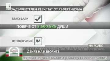 44,83% е избирателната активност към 17 часа