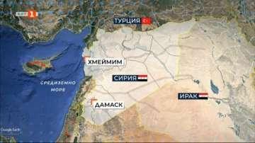 Предотвратен е инцидент с пътнически самолет в Сирия