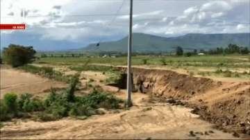 Огромна пукнатина се появи в Кения (ВИДЕО)