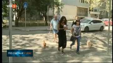 Обновяват пешеходните пътеки във Варна