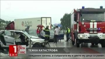 Румънски гражданин загина, а трима пострадаха при катастрофата край Мездра