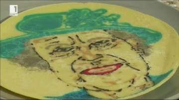 Политици вдъхновиха майстор на палачинки