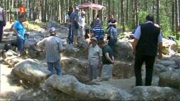 Откриха тракийска царска резиденция на над две хиляди години