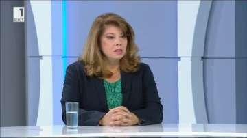 И. Йотова: Кандидатпрезидентската ни двойка подкрепя членството ни в ЕС и НАТО