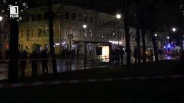 Трима ранени при взрив на автобусна спирка в Москва