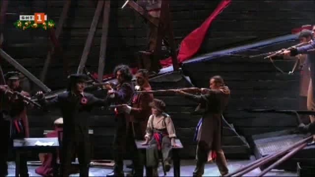 Революционен дух обзема Софийската опера и балет. Барикади и барут,