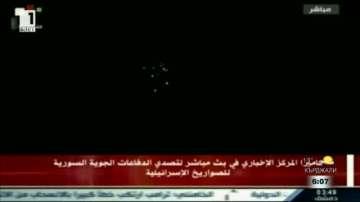 Иранските сили в Сирия са обстрелвали израелски цели