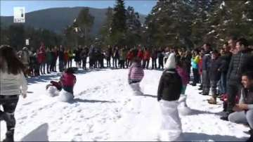 Зимен празник в курорта Семково над Белица