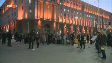 Продължават протестите в София, провокирани от цените на горивата