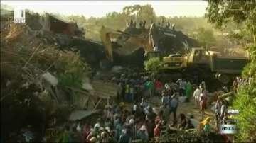 Свлачище уби 48 души в Етиопия