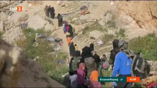 Около три хиляди джихадисти са се предали вчера на Сирийски