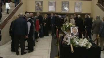 Последно сбогом с големия български композитор Тончо Русев