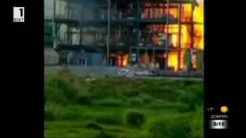 Взрив в химическо предприятие в Кайро