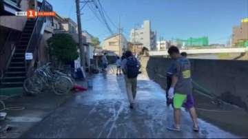 Япония се възстановява след тайфуна