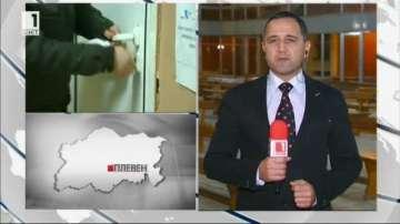 Бурният вятър застраши изборния ден в плевенско