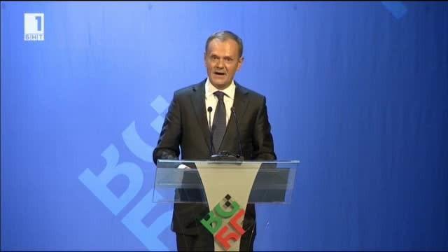 Председателят на Европейския съвет Доналд Туск спечели сърцата на българите