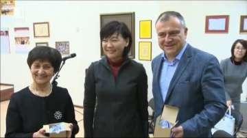 Съпругата на японския премиер гледа изпълнения на детския радиохор на БНР