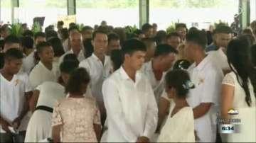 Масова сватба във Филипините за Деня на влюбените