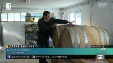 Предприемчив българин произвежда бутикови вина в село Червена вода