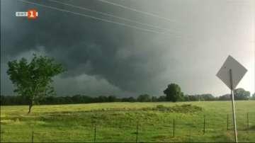 Торнадо премина през американския щат Тексас