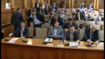От БСП напуснаха парламентарната зала в знак на протест
