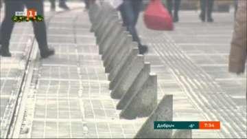 Представят новите ограничители по улица Граф Игнатиев
