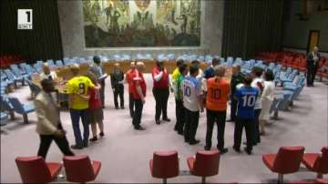 Еуфорията около Световно първенство по футбол обхвана и ООН