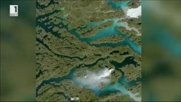 Пожари в тундрата на Гренландия