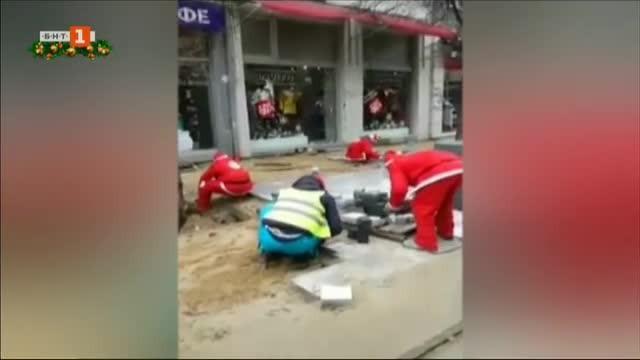 Само ден след поредната инспекция на Столична община на ремонта